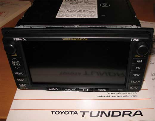 The E7006 taken from a Toyota Tundra